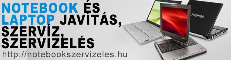 Notebook szervizelés, Laptop javítás, alkatrészek, használt laptopok